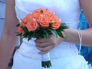 svatební kytička ...