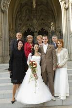 s rodicmi a svedkynami :)