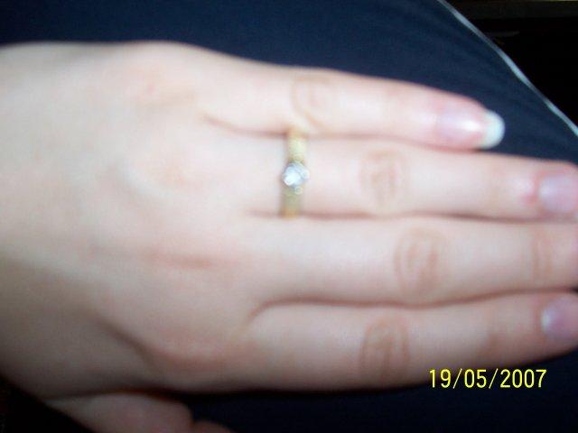 Moje predstavy - Môj snubný prstienok