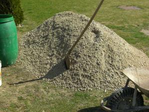 Samozrejme asi piesok nesmie chýbať