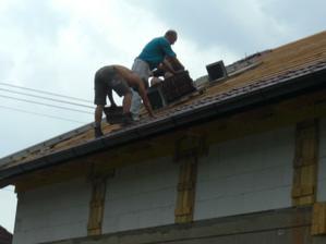 Skateboardy na streche...