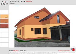 A akú kombináciu farieb zvoliť na zadnej časti domu ? Poradte prosím,,, alebo skúste navrhnúť ako by sa to mohlo spraviť.
