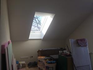 Pracovňa so strešným oknom...