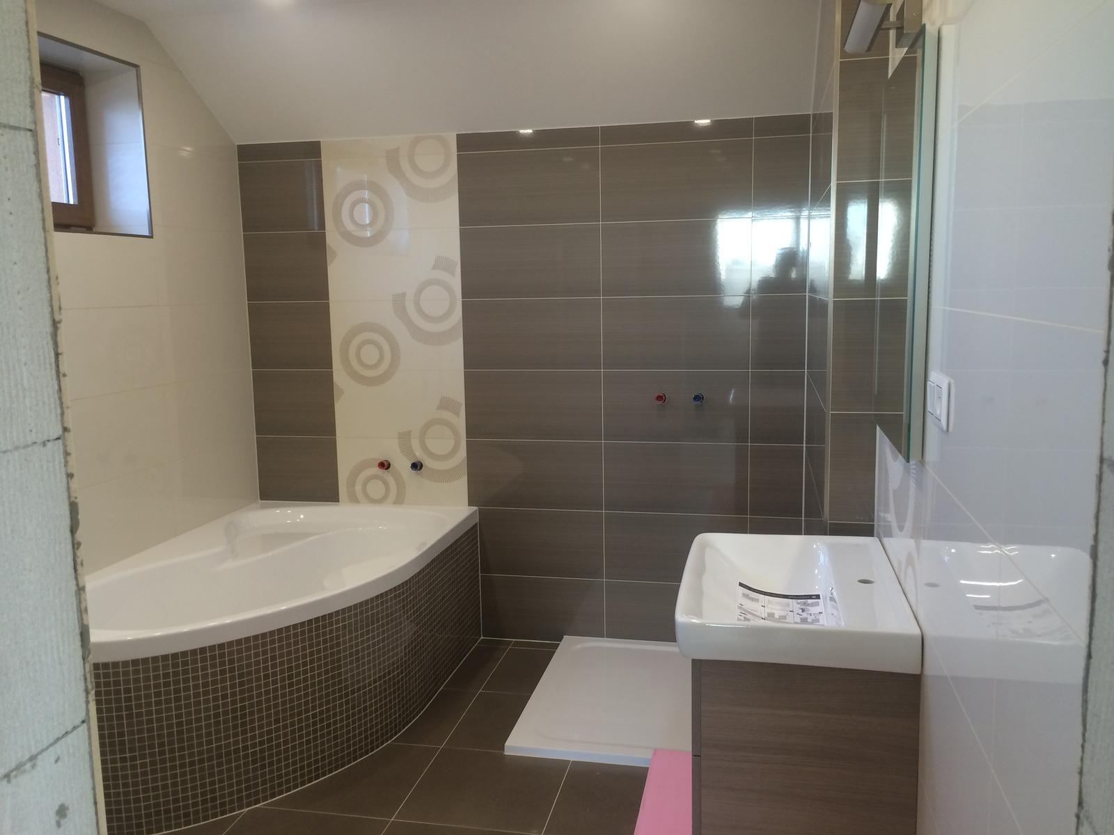 Nadstavba rodinného domu - Kúpeľňa