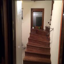 Konečne omietnuté schodisko... Konečne