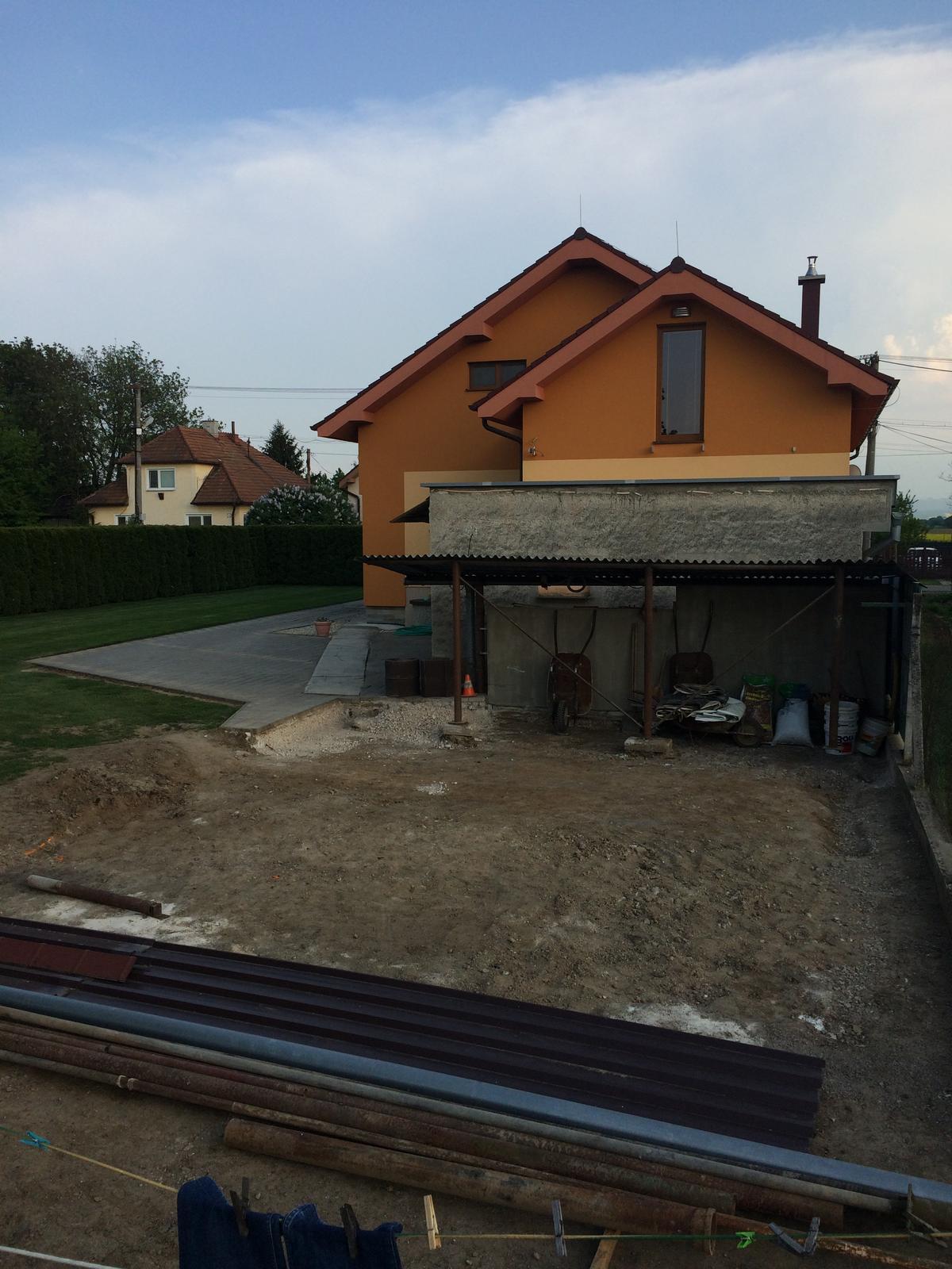 Stavba garáže - Obrázok č. 3