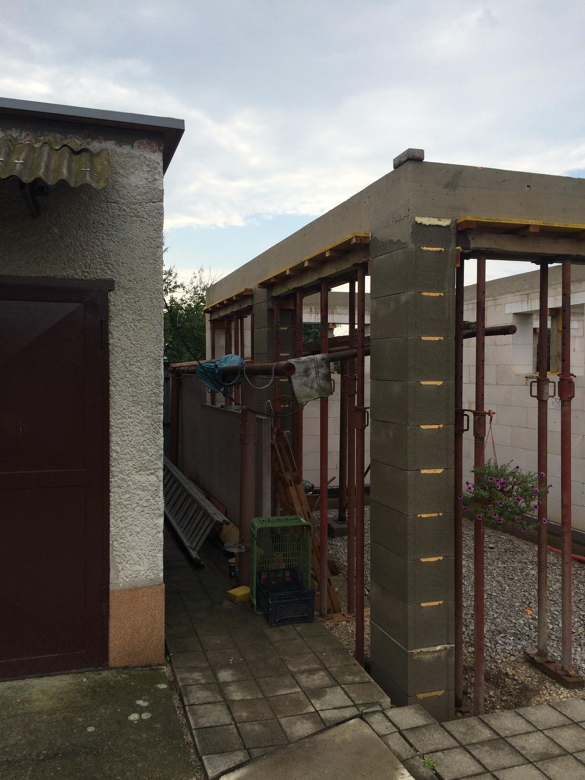 Stavba garáže - Obrázok č. 33