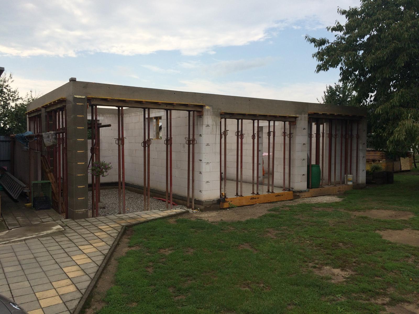 Stavba garáže - Obrázok č. 34