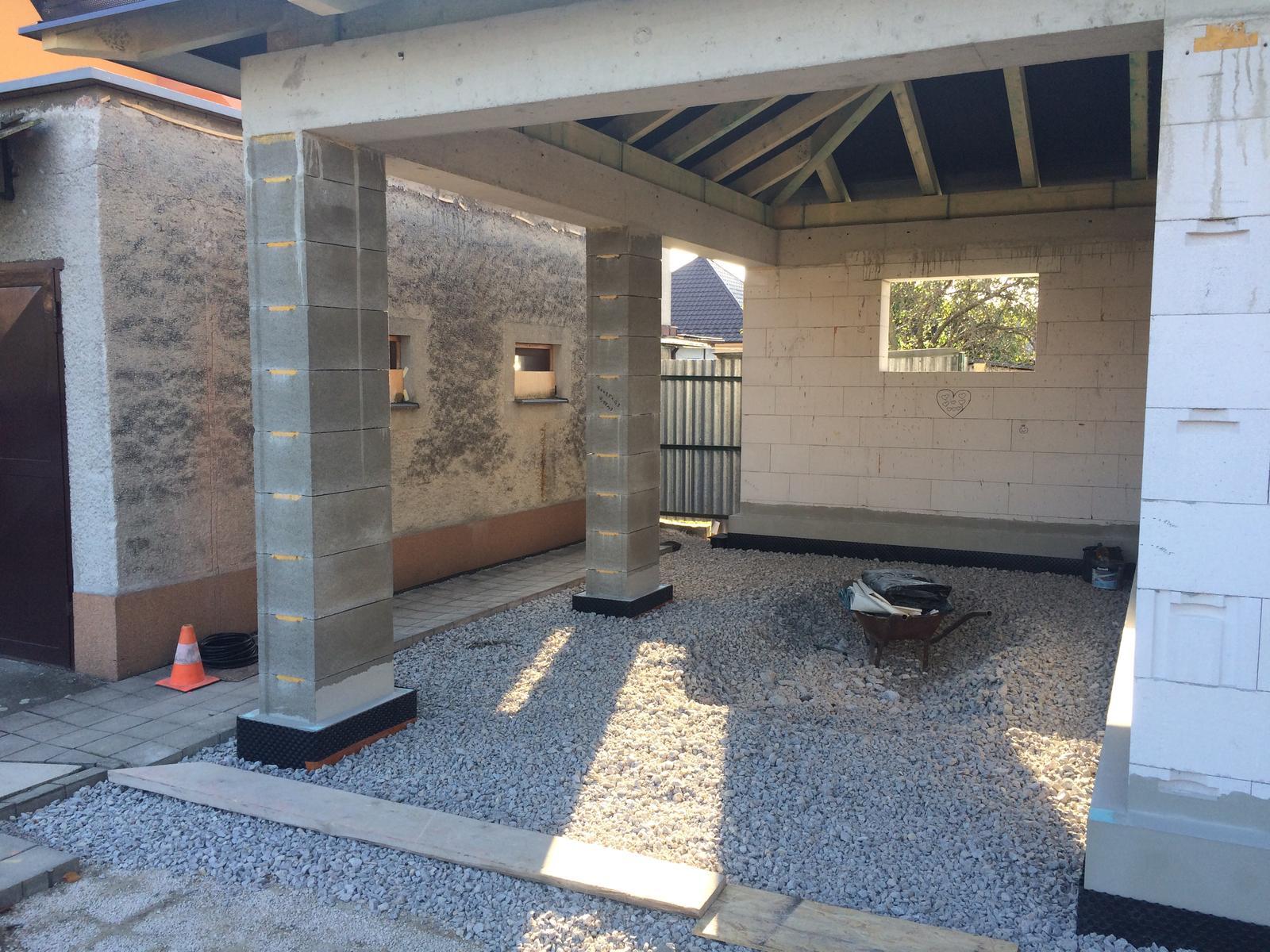 Stavba garáže - Obrázok č. 41
