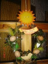 velikonoční dveře