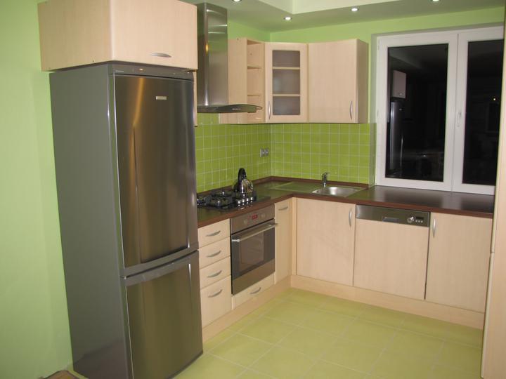 Posledný deň v roku sme sa presťahovali - kuchyňa