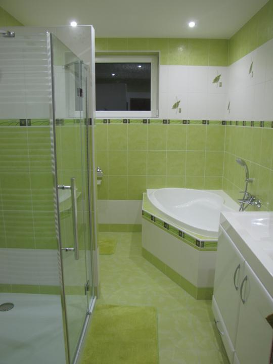 Posledný deň v roku sme sa presťahovali - kúpelňa