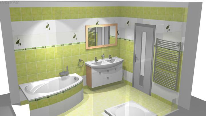 Vizualizácia kúpelne - Obrázok č. 3