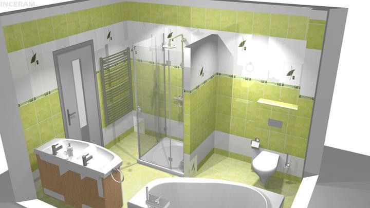 Vizualizácia kúpelne - Obrázok č. 1