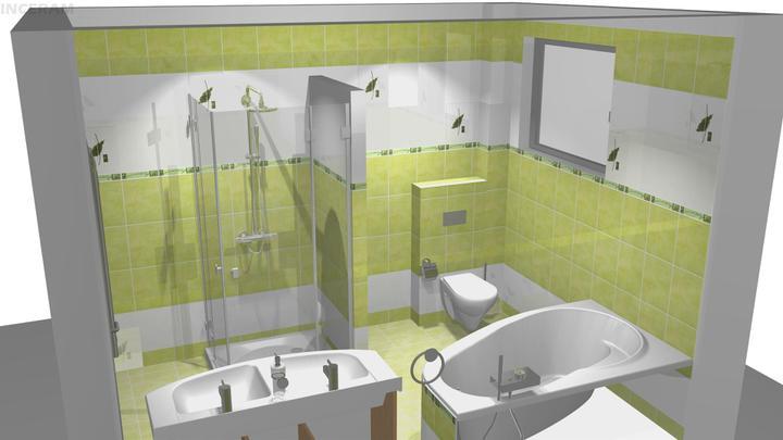 Vizualizácia kúpelne - Obrázok č. 2
