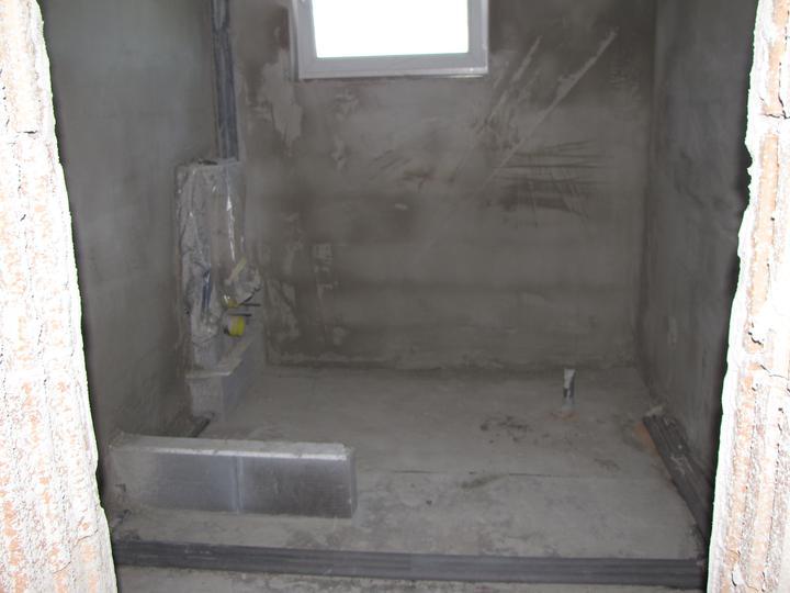 Kozovka - kúpelňa omietnuta na hrubo