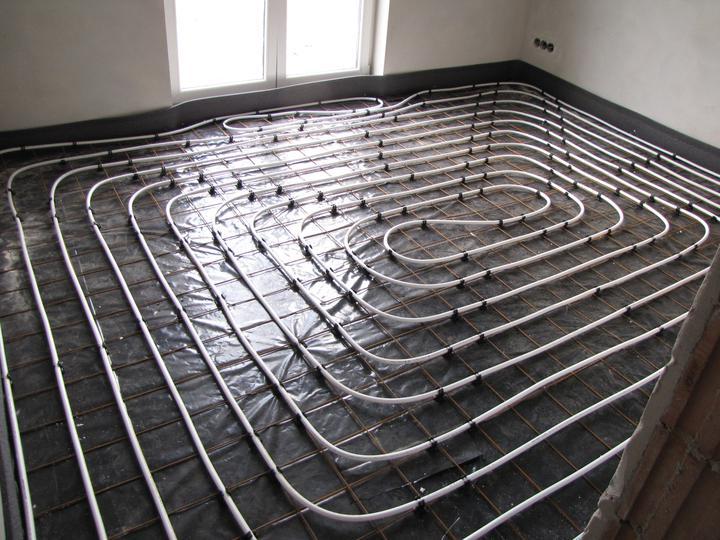 Podlahové kúrenie a poter - detská izba