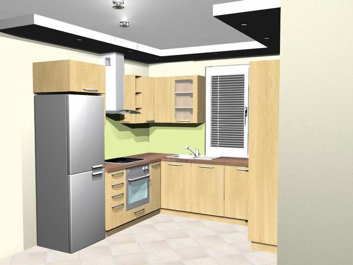 Naša budúca kuchyňa - ešte tam bude pár menších úprav