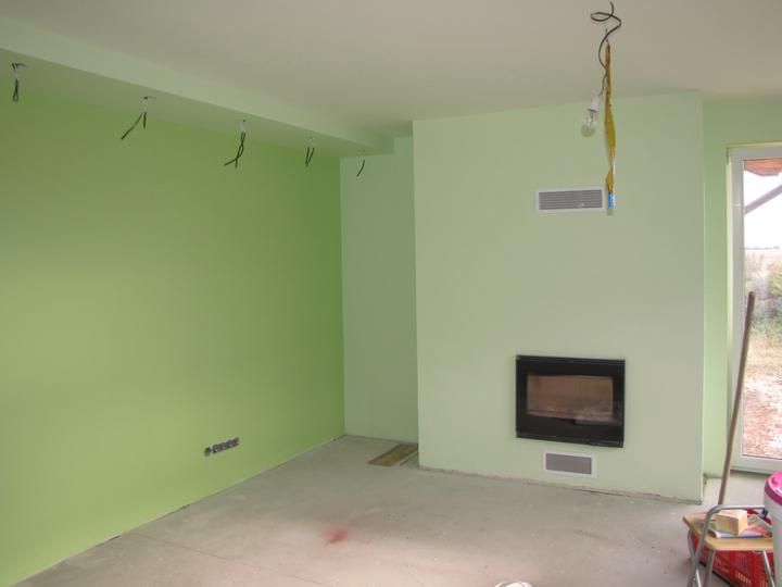 Malovka - obývačka