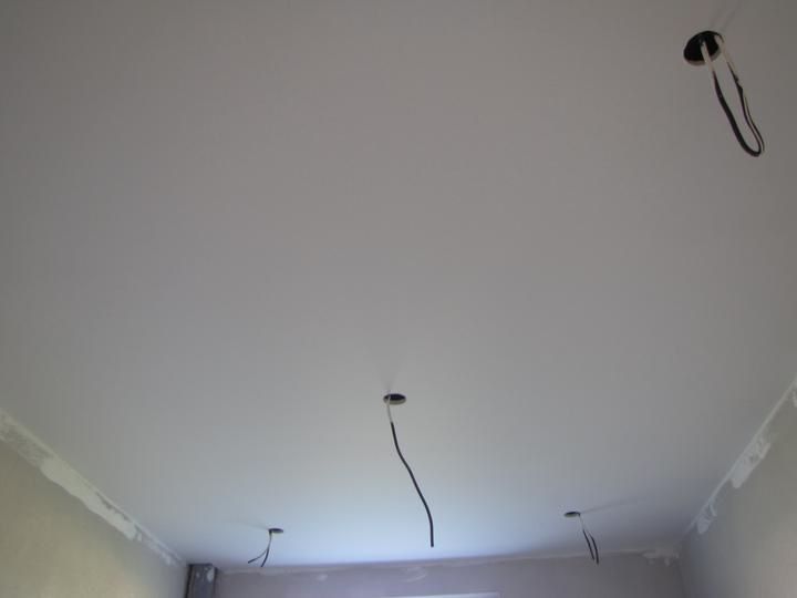 Malovka - strop v kúpelni
