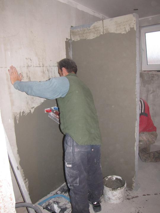Kúpelňa a zvyšok - nanášanie hydroizolácie