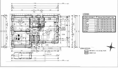 prizemie - komora nebude a ani samostané WC