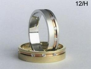 Naše snubní prstýnky 1.varianta