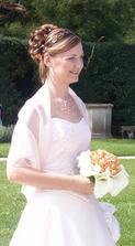 To su já - nevěsta - pro toho, kdo by to náhodou nepoznal:o)