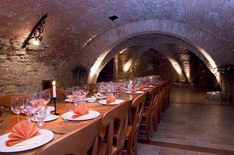 Sklepní vinárna Vily Jarmila