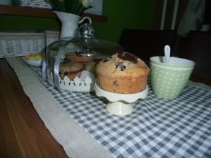 moje prvé muffinky