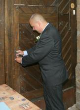ženich se stal po dobu obřadu pánem hradu