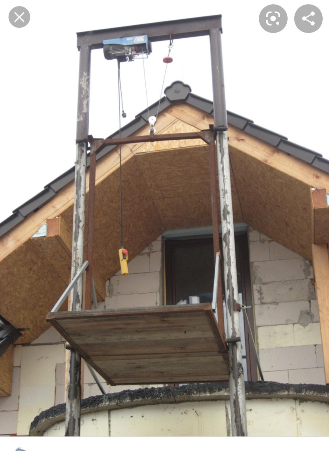 Stavebný výťah - Obrázok č. 1