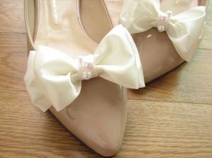 na hnědé boty klipy v barvě vestičky ženicha...
