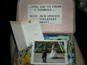 Nejoriginálnější svatební dar, děkujeme myšákům Filipovcům :D