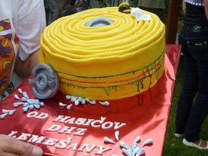 naša torta od našich Hasičov !