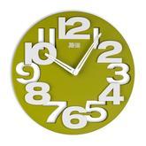 3D plastové hodiny s priemerom 31cm . Cena 17,5€