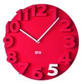 3d plastové hodiny s priemerom 40 cm. Cena 22€