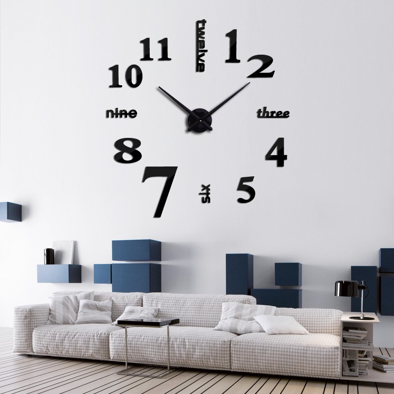 Nalepovacie nastenne hodiny, Hodiny Ručičky - Obrázok č. 39