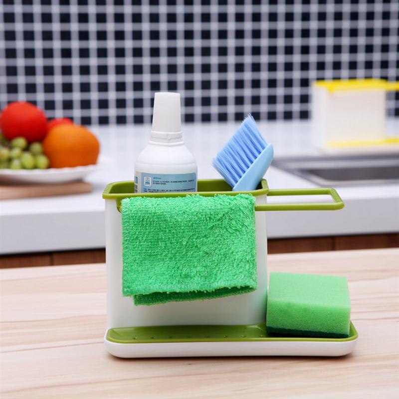 Kuchynské dizajnové doplnky na www.dekoraciedobytu.sk - Organizér do kuchyne biely/ zelený na http://www.dizajnove-doplnky.sk/organizer-do-kuchyne-biely-zeleny za 6,95€