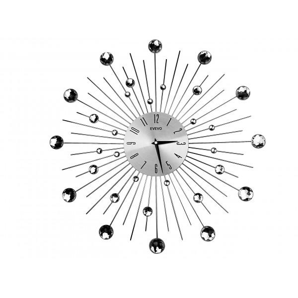 Dekoračné hodiny - http://www.dizajnove-doplnky.sk/nastenne-hodiny-crystal-shine-evevo-50cm