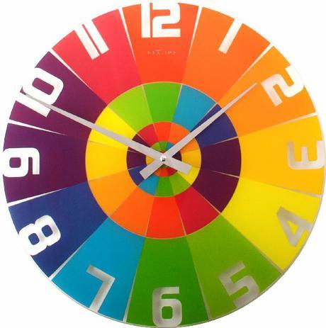 Nastenne hodiny Duha 43 cm - Obrázok č. 1
