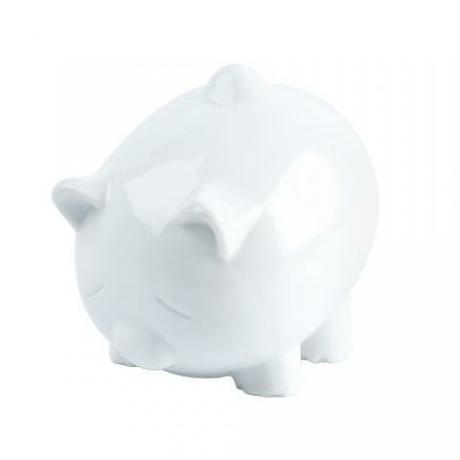 Biele prasiatko pokladnicka - Obrázok č. 1