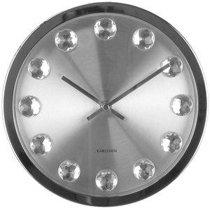 Hodiny karlsson Diamant 40cm - Obrázok č. 1