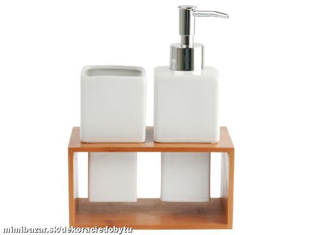 Dávkovač na mydlo, sada - Obrázok č. 1