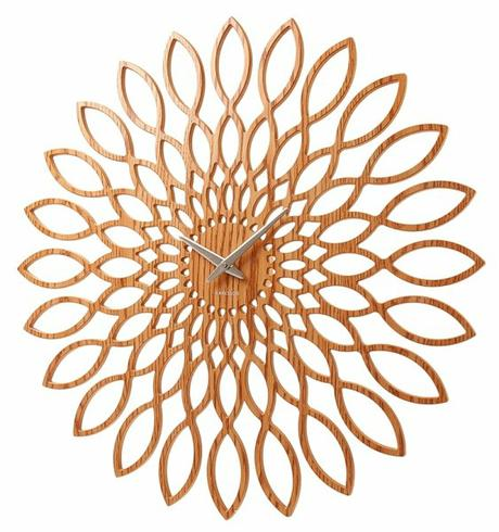 Dizajnové hodiny Slnečnica 60cm - Obrázok č. 1