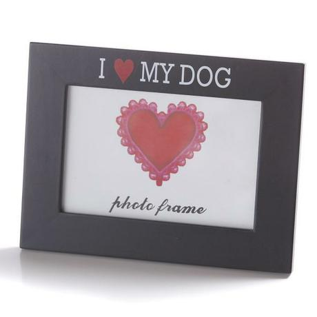 Fotoram I LOVE MY DOG - Obrázok č. 1