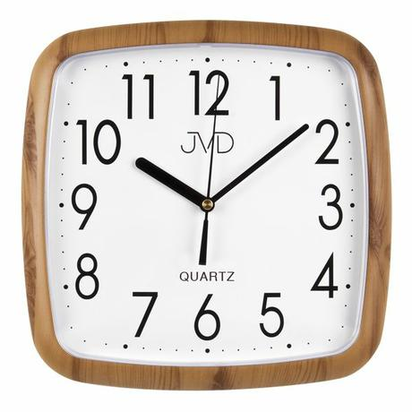 Nástenné hodiny quartz drevo 615 25cm - Obrázok č. 1