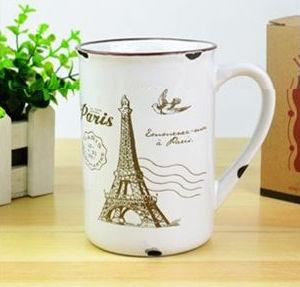 Porcelánový retro hrnček - Paris - Obrázok č. 1