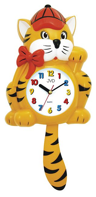 Nástenné hodiny Mačička 64.1/2 52cm - Obrázok č. 1
