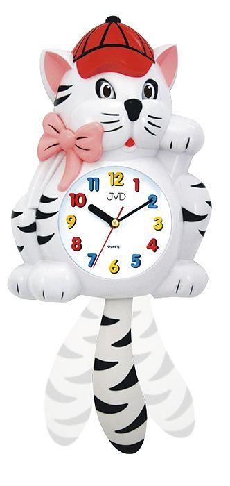 Nástenné hodiny Mačička 64.1/2 52cm - Obrázok č. 2